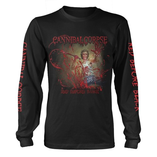 Tricou mânecă lungă Cannibal Corpse Red Before Black