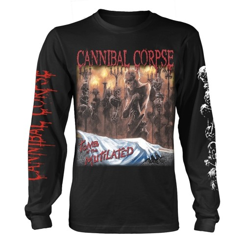 Tricou mânecă lungă Cannibal Corpse Tomb Of The Mutilated