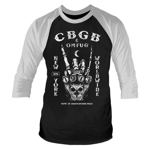 Tricou mânecă 3/4 CBGB Est. 1973