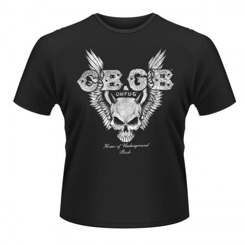 Tricou CBGB Skull Wings