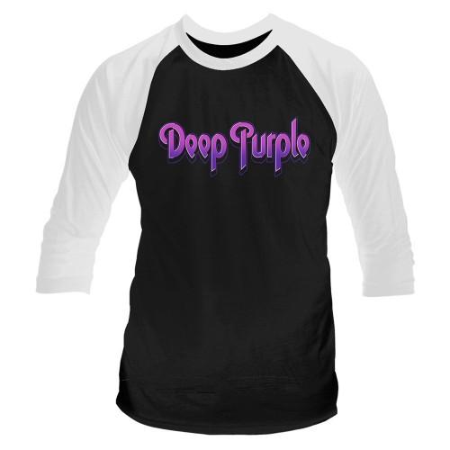 Tricou mânecă 3/4 Deep Purple Logo