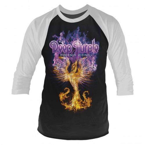 Tricou mânecă 3/4 Deep Purple Phoenix Rising