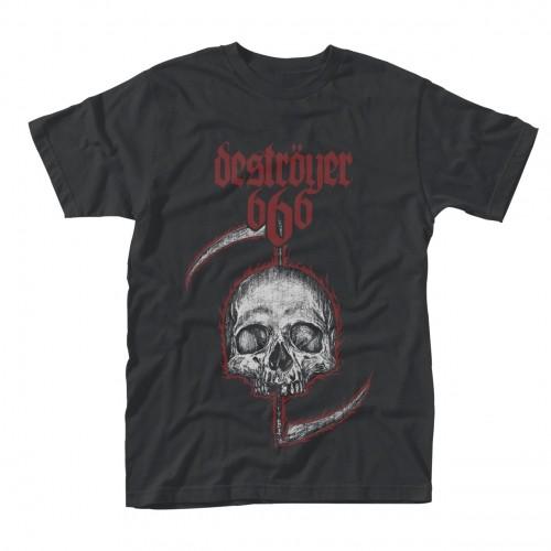 Tricou Destroyer 666 Skull