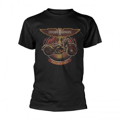 Tricou The Doobie Brothers Motorcycle Tour '87