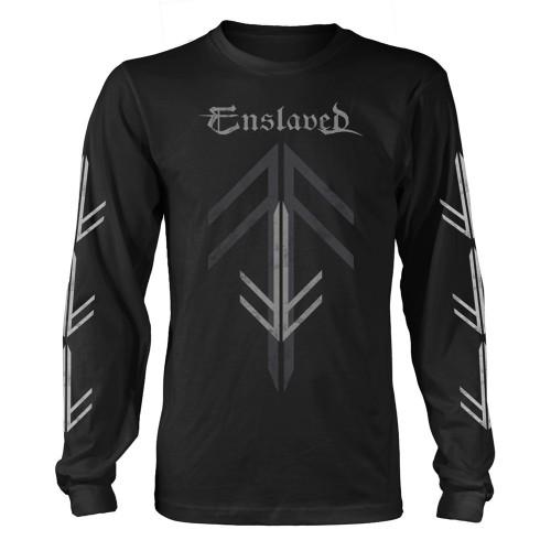 Tricou mânecă lungă Enslaved Rune Cross