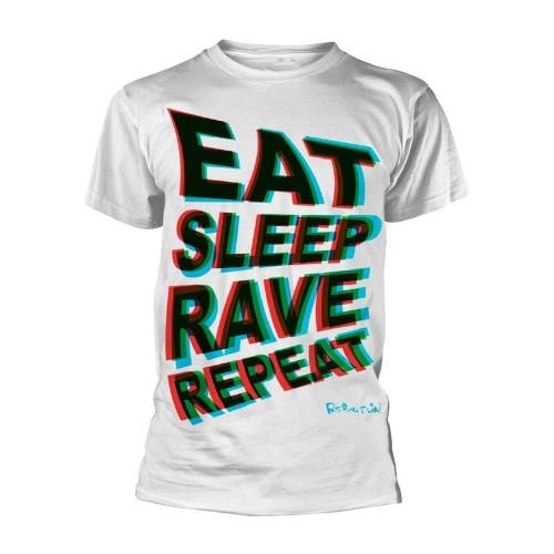 Tricou Fatboy Slim Eat Sleep Rave Repeat