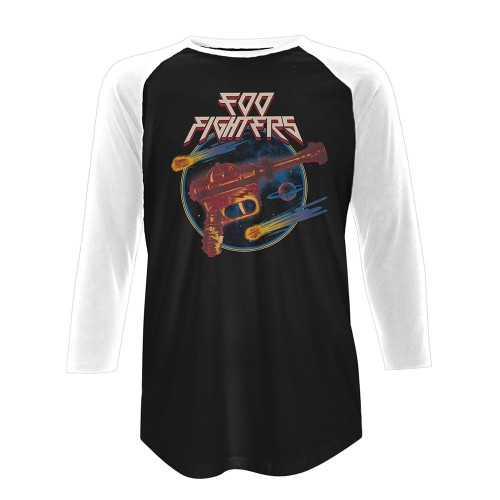 Tricou mânecă 3/4 Foo Fighters Ray Gun