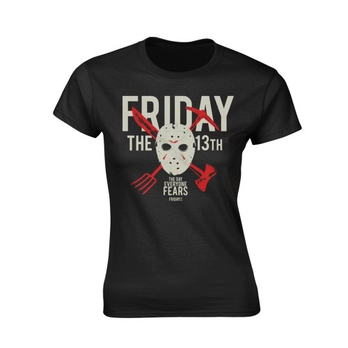 Tricou Damă Friday The 13th Day Of Fear