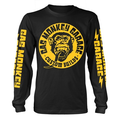 Tricou mânecă lungă Gas Monkey Garage Big Yellow Logo