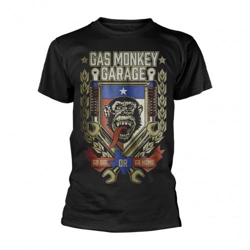 Tricou Gas Monkey Garage Go Big Or Go Home