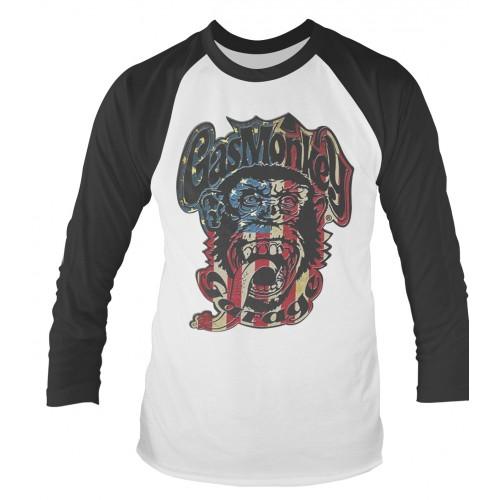 Tricou mânecă lungă Gas Monkey Garage Usa Monkey Logo