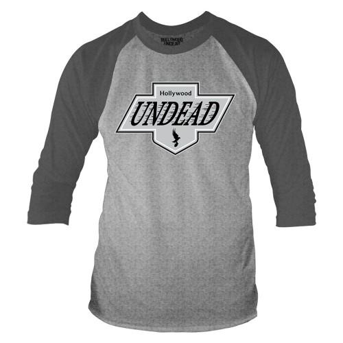 Tricou mânecă 3/4 Hollywood Undead L.A. Crest