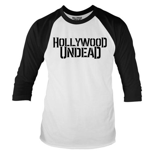 Tricou mânecă 3/4 Hollywood Undead Logo