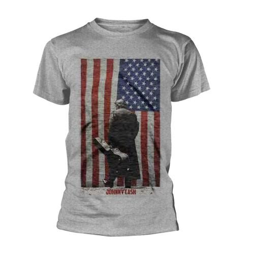 Tricou Johnny Cash American Flag