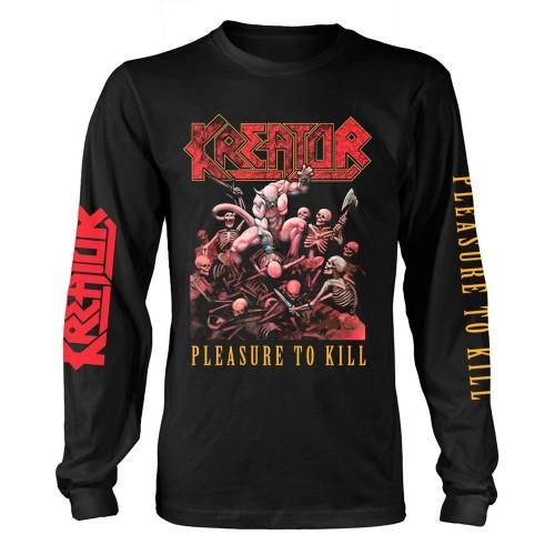 Tricou mânecă lungă Kreator Pleasure To Kill