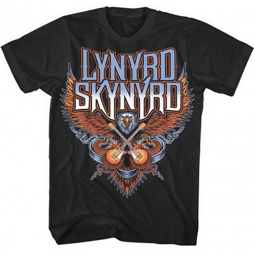 Tricou Lynyrd Skynyrd Crossed Guitars