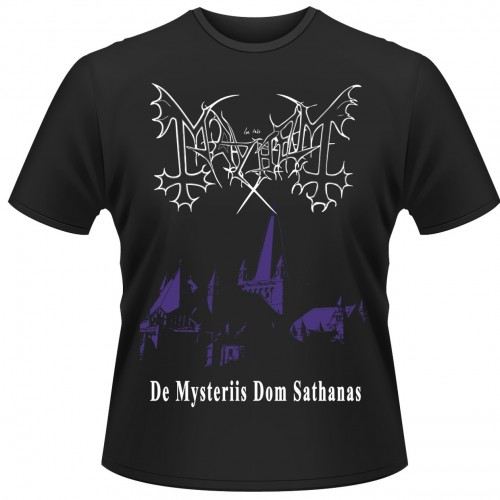 Tricou Mayhem De Mysteriis Dom Sathanas