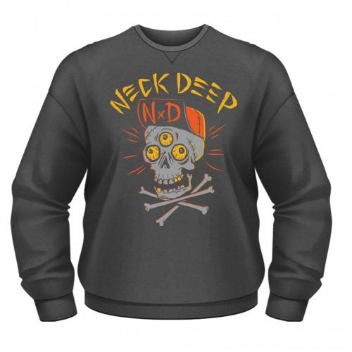 Bluză Neck Deep Skulls