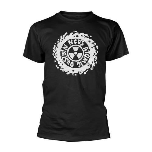 Tricou Ned'S Atomic Dustbin White Logo