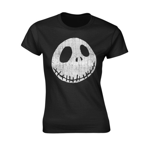 Tricou Damă The Nightmare Before Christmas Cracked Face