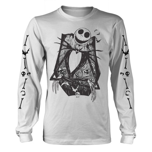 Tricou mânecă lungă The Nightmare Before Christmas Jack Crossed Arms Sleeve