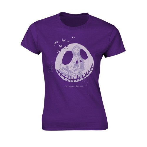 Tricou Damă The Nightmare Before Christmas Seriously Spooky