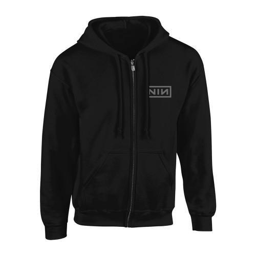 Hanorac cu fermoar Nine Inch Nails Classic Grey Logo