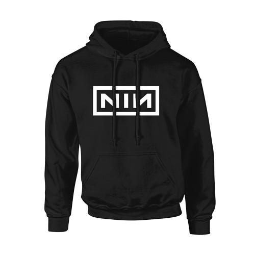 Hanorac Nine Inch Nails Classic White Logo