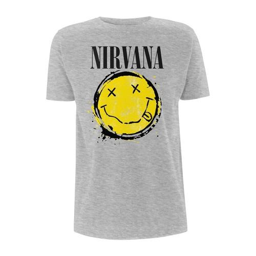 Tricou Nirvana Smiley Splat