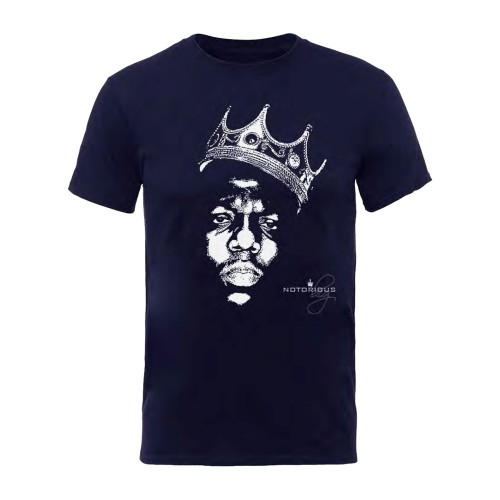 Tricou The Notorious B.I.G. Biggie Crown Face