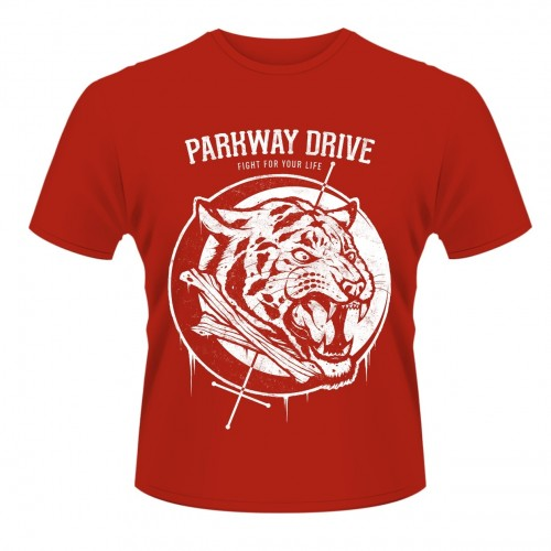 Tricou Parkway Drive Tiger Bones