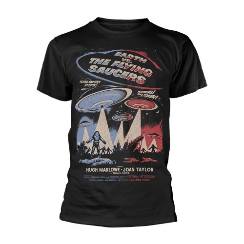 Tricou Plan 9 - Earth Vs. The Flying Saucers Earth Vs. The Flying Saucers - Poster