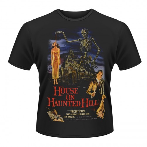Tricou Plan 9 - House On Haunted Hill House On Haunted Hill
