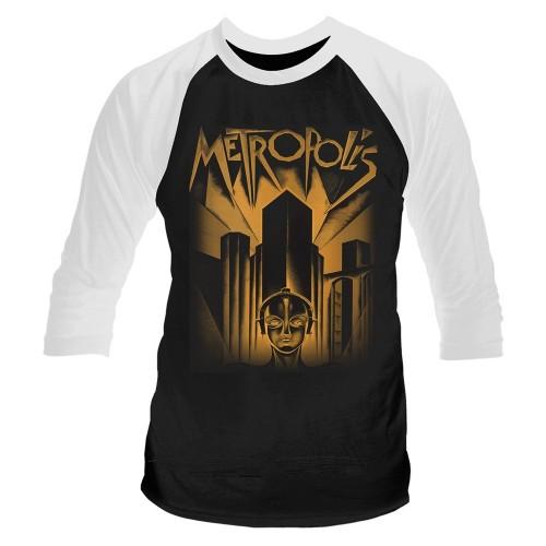 Tricou mânecă 3/4 Plan 9 - Metropolis Metropolis