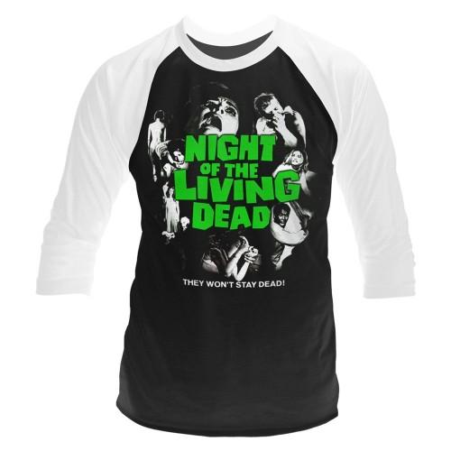 Tricou mânecă 3/4 Plan 9 - Night Of The Living Dead Night Of The Living Dead