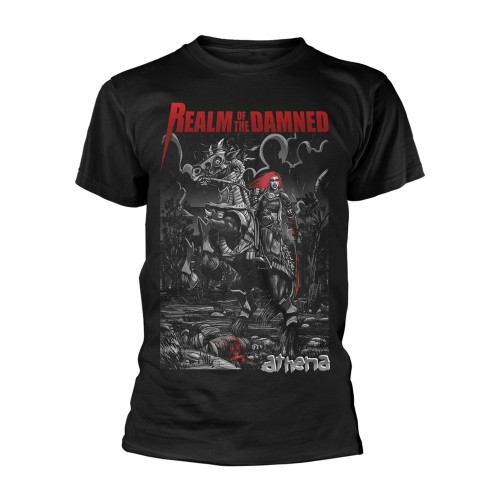 Tricou Realm Of The Damned Horse
