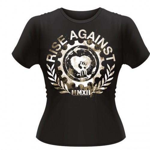 Tricou Damă Rise Against Gearfist