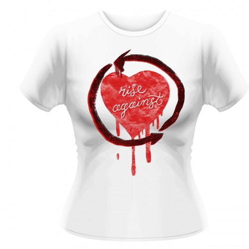 Tricou Damă Rise Against Rough Heart