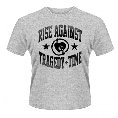 Tricou Rise Against Tragedy Time