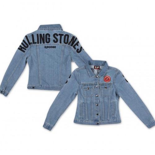 Jachetă Denim de Damă The Rolling Stones Arch Logo