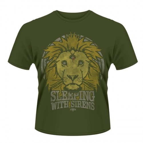 Tricou Sleeping With Sirens Lion Crest