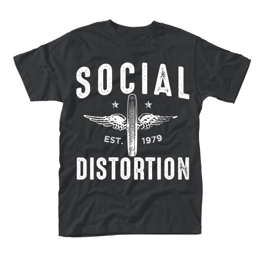 Tricou Social Distortion Winged Wheel