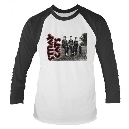 Tricou mânecă lungă Stray Cats Band Photo
