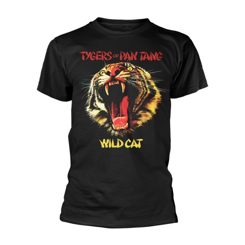 Tricou Tygers Of Pan Tang Wild Cat