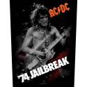 Back Patch AC/DC 74 Jailbreak