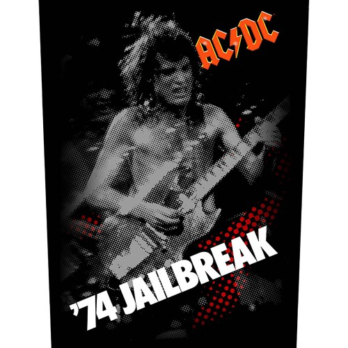 Back Patch AC/DC 74 Jailbreak