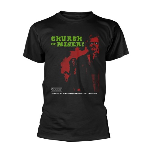Tricou Church Of Misery Rated R