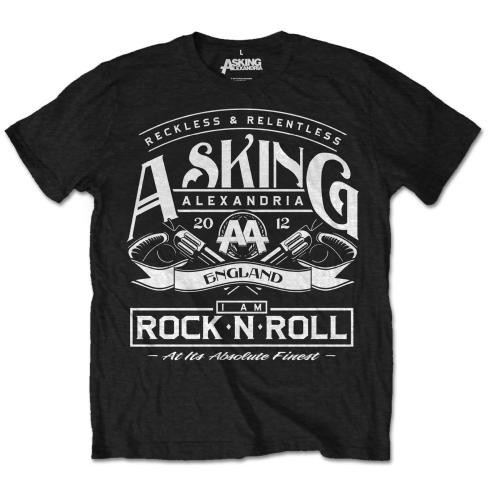 Tricou Asking Alexandria Rock 'n Roll