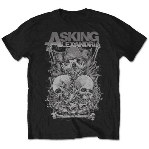 Tricou Asking Alexandria Skull Stack