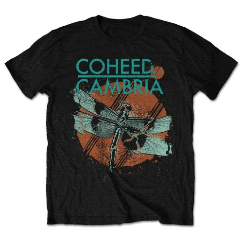 Tricou Coheed And Cambria Dragonfly